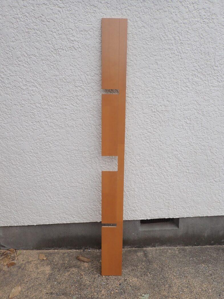 柱をよける加工